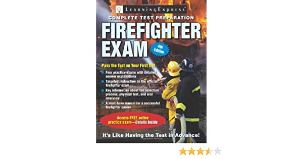 Firefighter Exam Firefighter Exam Learning Express