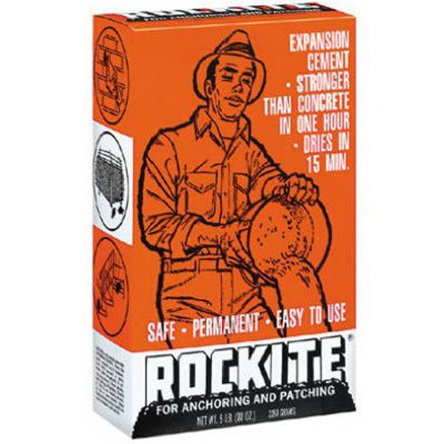 Rockite Cement 15 Min 5 Lb