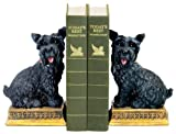 Sterling Home 7-7092 Pair of Bookends, Baron Scottie Dog, 8-Inch Tall