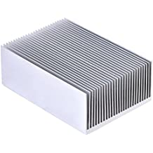 "Aluminum Heat Sink Heatsink Module Cooler Fin for High Power Led Amplifier Transistor Semiconductor Devices with 23 pcs Fins 3.93""(L) x 2.71""(W) x 1.41""(H) / 100mm (L)x 69mm(W) x 36mm(H)"