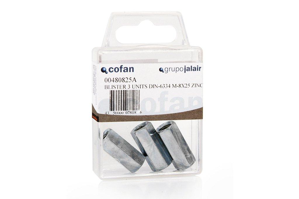 Cofan 00481030A Manguitos hexagonales, M-10x30, Set de 2 Piezas Cofan (COFB0)
