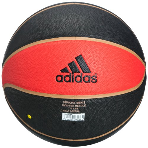 Adidas Basketball Trainings Rose all purp 2 Black/lgtsca/metgol, Größe Adidas:7