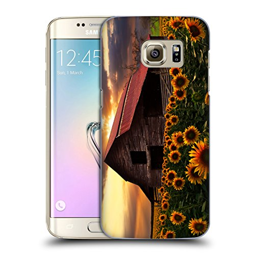 Official Celebrate Life Gallery Sunflower Farm Florals Hard Back Case for Samsung Galaxy S7 (Farms Sunflower)