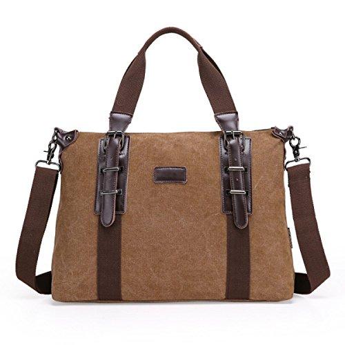 Business Briefcase Storage Section Messenger Canvas Bag Men Vertical Shoulder Personality Handbag Blue Casual Chengxiaoxuan Pz1vq8