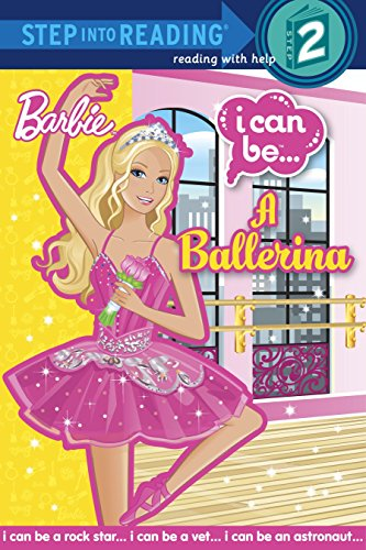 I Can Be A Ballerina (Barbie) (Step into Reading)]()