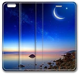 Coast Sunset Stones Apple iPhone 6 Plus Case, 3D iPhone 6 Plus Cases Hard Shell Cover Skin Casess