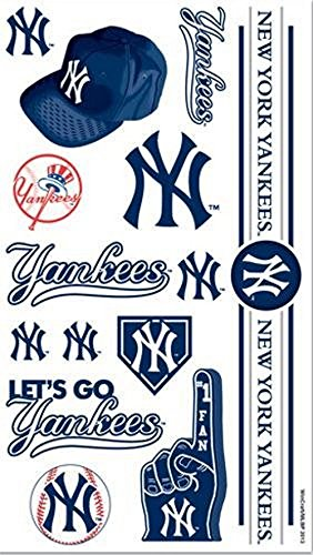 c1c8a9d52dd Image Unavailable. Image not available for. Color  New York Yankees Tattoos