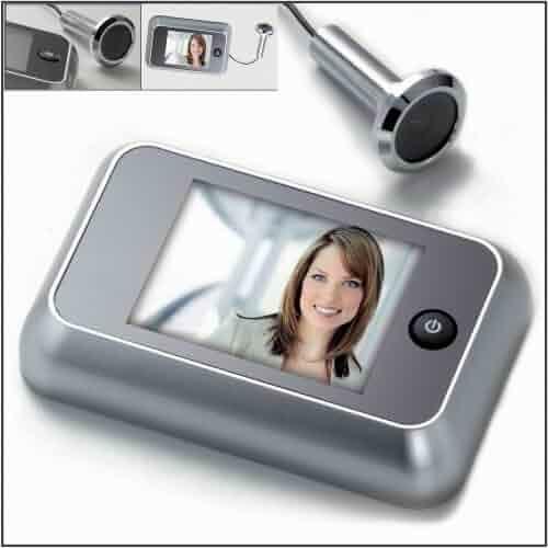 Intersteel Digital Door Spy, with Extra Large 8.9 cm Display and Door Camera for 38 to 72 mm Thick Doors