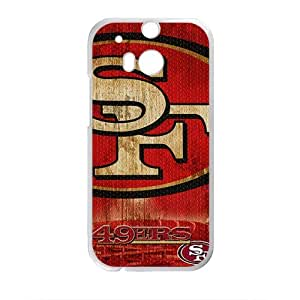SF 49ERS Fahionable And Popular Back Case Cover For HTC One M8