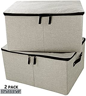 iwill CREATE PRO Jumbo Foldable Linen Storage Containers Tide Up Your Closet Convenient Storage  sc 1 st  Amazon.com & Amazon.com: reisenthel Storagebox L Large Collapsible Fabric ...