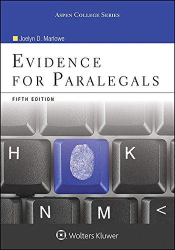 Evidence for Paralegals (Aspen College)