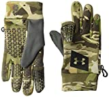 Under Armour Men's Early Fleece Gloves, UA Forest Camo (940)/Black, X-Large