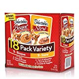 Delectables Stew & Bisque Lickable Wet Cat Treats - Chicken, Seafood & Veggies - 18 Pack Variety