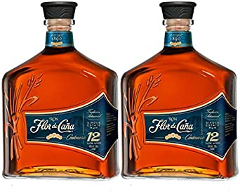 Ron Flor de Caña Centenario 12 años de 70 cl - D.O. Nicaragua - Bodegas Osborne (Pack de 6 botellas): Amazon.es: Alimentación y bebidas