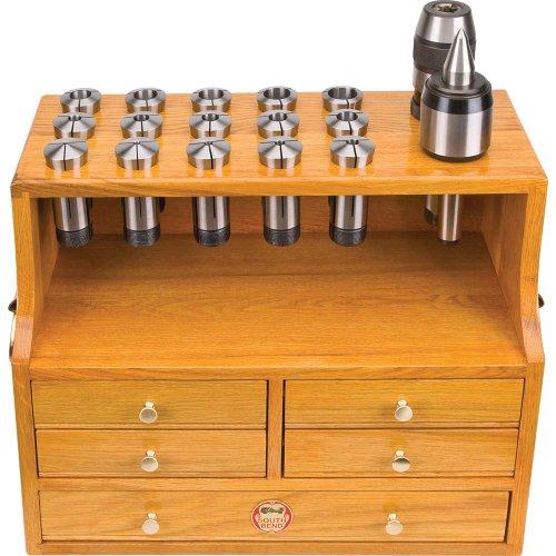South Bend Lathe SB1449 5-C Oak Collet Box
