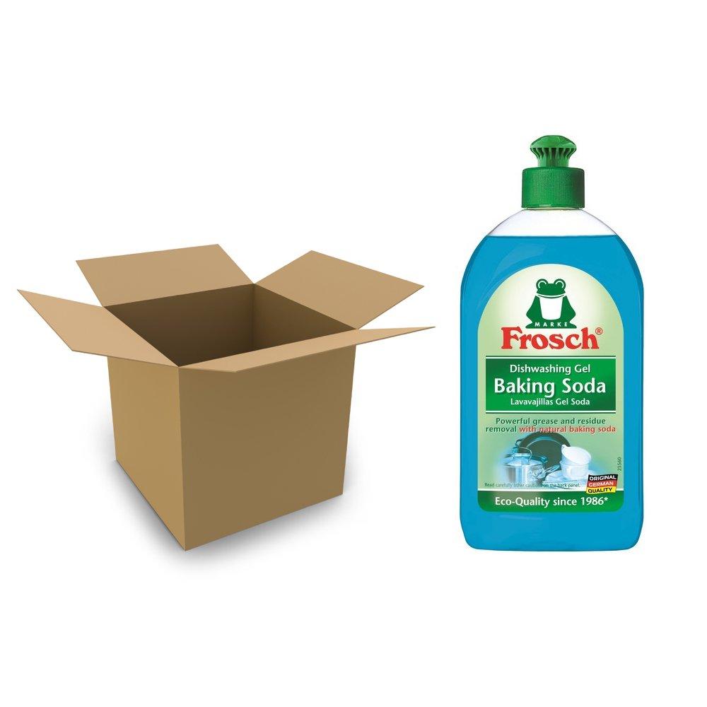 Frosch bicarbonato mano lavar platos de jabón líquido, 500 ml (Case Of 8): Amazon.es: Hogar