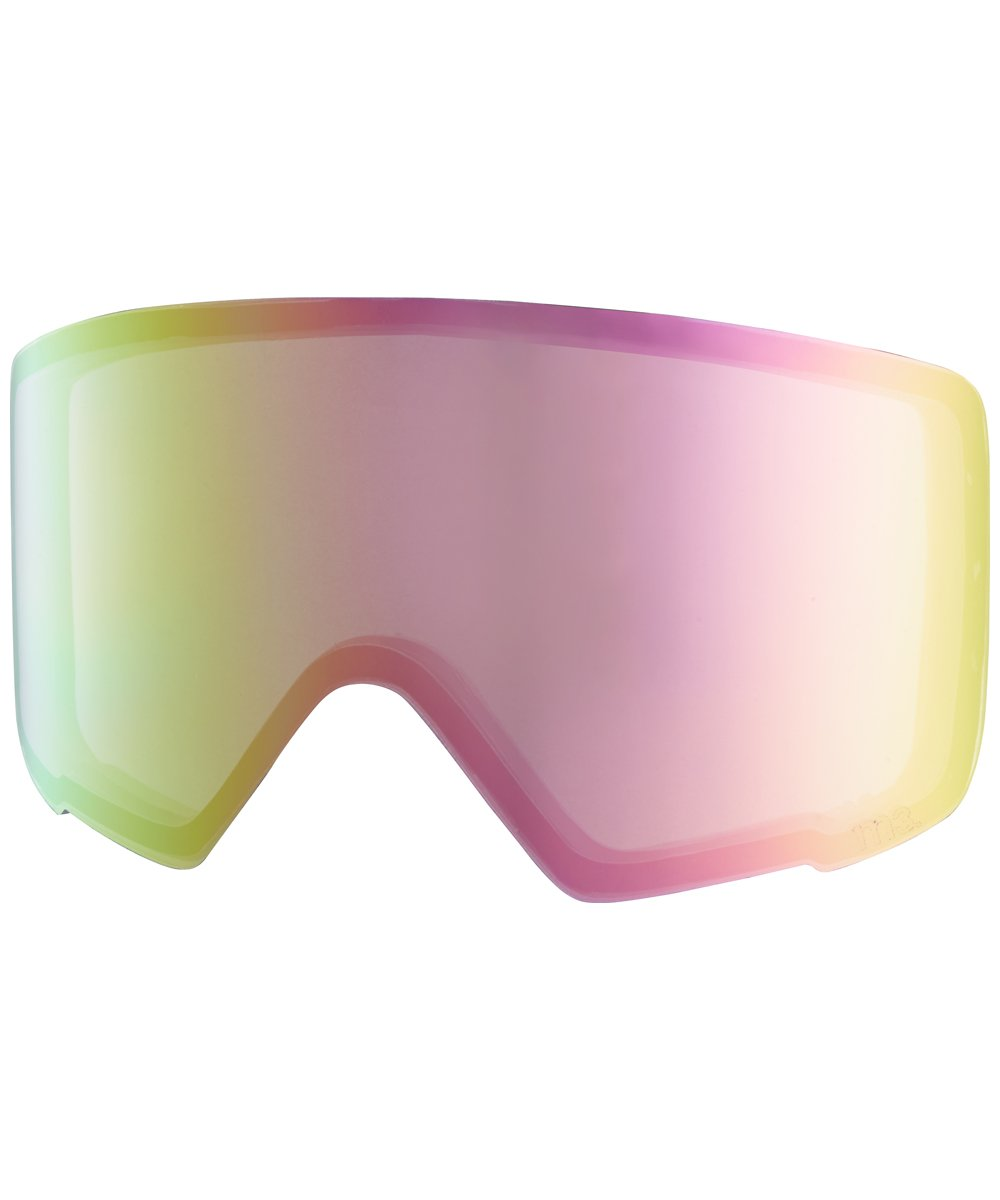 Anon M3 Snow Goggle Replacement Lens Pink Ice 69% VLT + Case