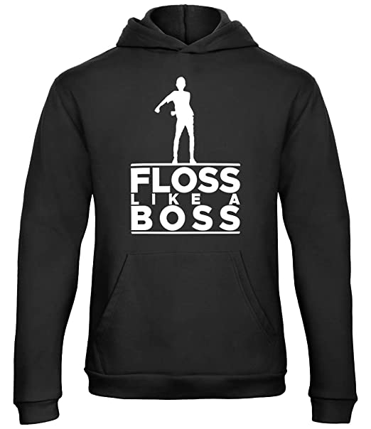 537a8be65a09 Kids Floss Like A Boss Hooded Top Boys Hoodie: Amazon.co.uk: Clothing