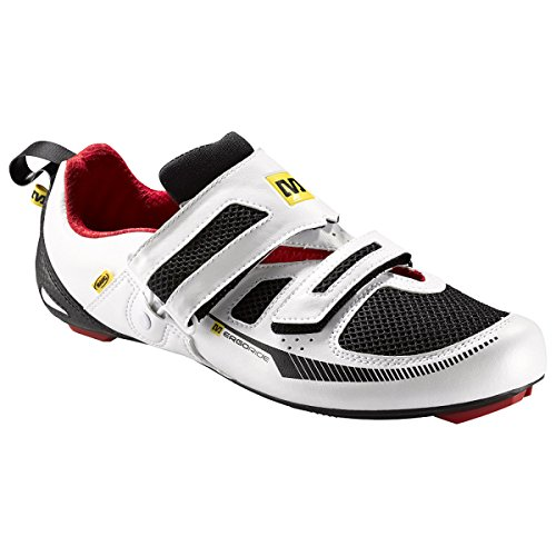Zapatillas Mavic Tri Race quick blanco/negro para hombre 2015 white/black/quick