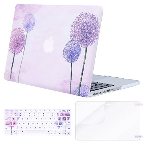 MOSISO Plastic Pattern Hard Case with Keyboard