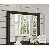 NE Kids Highlands Mirror in Espresso