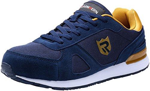 Lavoro Leggere Con 123 Eleganti In Ed Scarpe Blu sneaker lm Acciaio Larnmern Antinfortunistiche Uomo Punta Da twPqw7p1