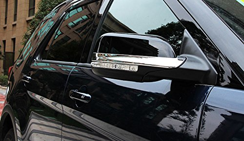 Fit for Ford Explorer 2015 2016 2017 2018 Chrome Rear View Mirror Side Molding Cover Trims Kate Wenzhou automobile supplies factory