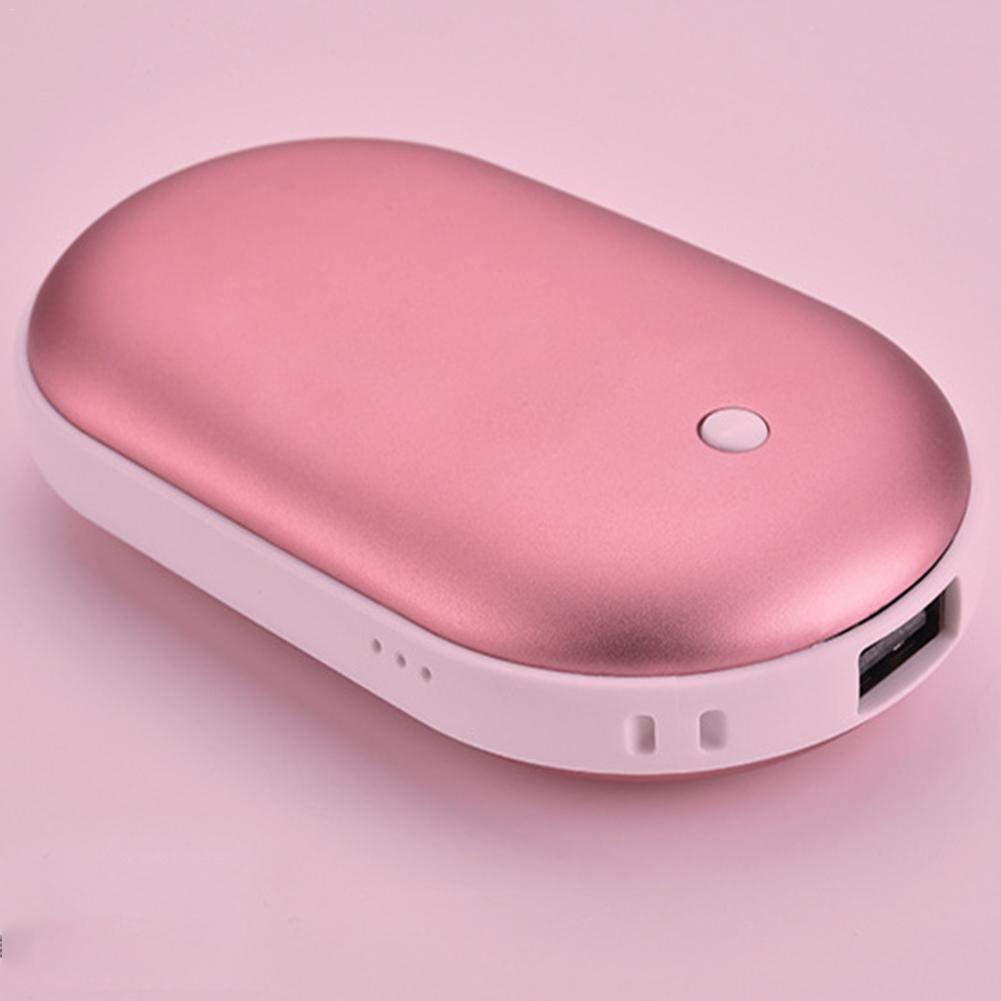 Dream-cool Hand Warmer Macaron 5200mAh Recargable el/éctrico Port/átil Pocket Hand Warmer//Power Bank Portable USB Mobile Cargador de bater/ía Externo Mejores Regalos de Invierno para Mujeres Designer