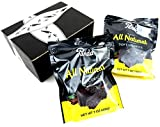 Panda All Natural Black Licorice, 7 oz Bags in a BlackTie Box (Pack of 2)