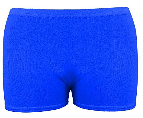 Slim Fit Slimming Royal Fashion Celebrity Effect Blue The Pantaloncini Fitted Donna Rz0YwRSq