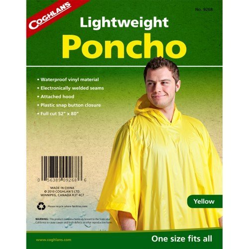(Coghlans Poncho - Yellow by Coghlans)