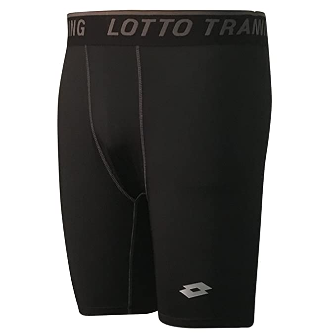 Amazon.com: Lotto Athletic pantalones de compresión corta ...
