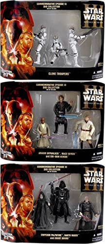 Star Wars Commemorative Episode Iii Revenge Of The Sith Dvd Collection Exclusive Set Of 3 At Amazon S Entertainment Collectibles Store