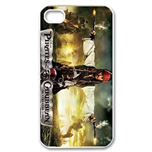 GTROCG Pirates of the Caribbean Phone Case For Iphone 4/4s [Pattern-2]
