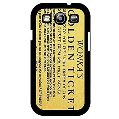 Golden Ticket Willy Wonka & The Chocolate Factory Cellphone