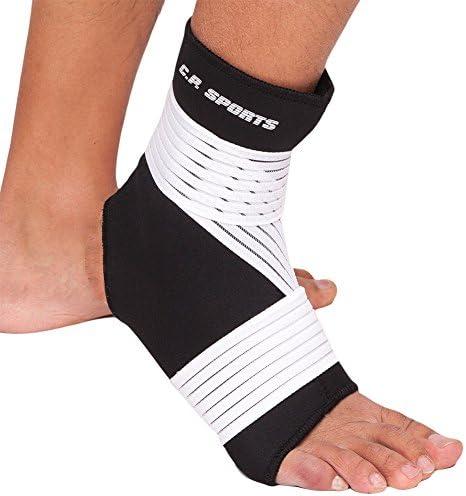 CP Sports Neopren-Fußgelenk-Bandage Strong - Fuss-Bandage, Ankle Support, Gelenk-Stützbandage - Sport, Fitness & Alltag