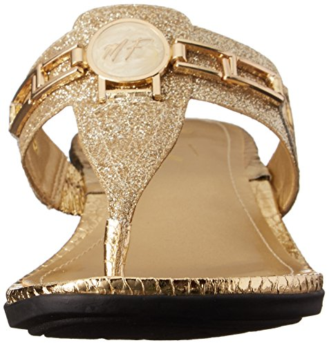 Mid Marc 2 Fisher Amina Glitter Flip Women's Flop Gold r6S0Zr