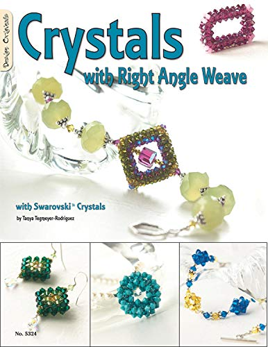 Swarovski Toggle - Crystals with Right Angle Weave: With Swarovski Crystals (Design Originals)