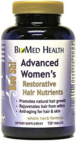 BioMed Health Advanced Women's Bao Shi Hair Nutrients 120 tablets
