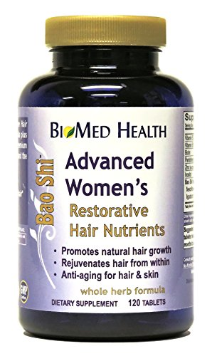 BioMed Health Advanced Women's Bao Shi Hair Nutrients 120 tablets