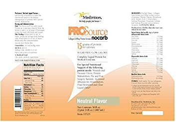 ProSource NoCarb Liquid Protein 30 Ounce – Case of 4 – Model 11525