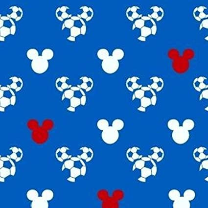 Marshalls Paper Mickey Mouse Sample Wallpaper - A4 (Blue/White/Red): Amazon.in: Home Improvement