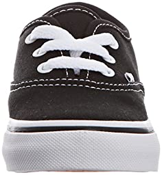 Vans Unisex AUTHENTIC Sneakers, Black, 10 M US Toddler