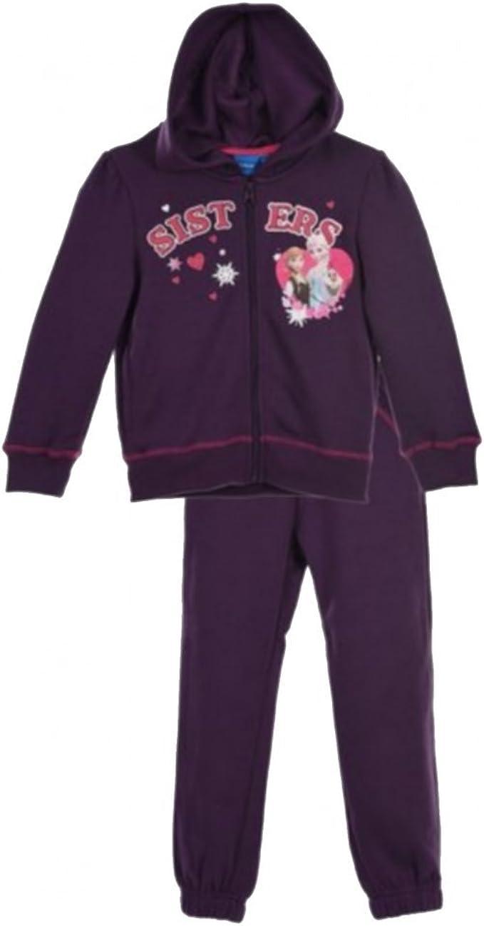 La Reine des Neiges – Chándal para niña Frozen Violet – 4 años, 6 ...