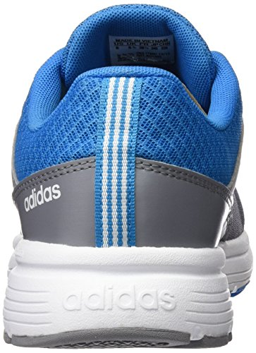 adidas Cloudfoam Vs City K, Zapatillas de Deporte para Niños Grey/Ftwwht/Solblu