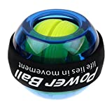 LED Wrist Ball, Flykul Wrist Trainer Powerball Workout Toy Gyroscopic Power Ball -- Spinner Gyroscopic Wrist and Forearm Exerciser Arm Strengthener -- Wrist and Forearms Exerciser