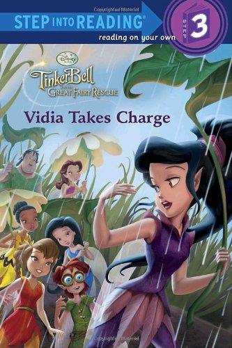 Download Vidia Takes Charge (Disney Fairies) (Step into Reading) pdf epub