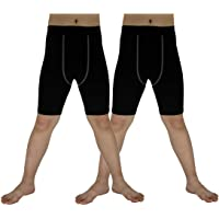 Sanke Soccer Sports Capri Compression Short Legging/Tights for Boys Girls