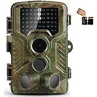 Ip Trail hunting camera 16MP 1080p 120° PIR Sensor wildlife game camera 65ft Infrared Scouting Camera with night vision 46pcs IR LEDs IP56 waterproof