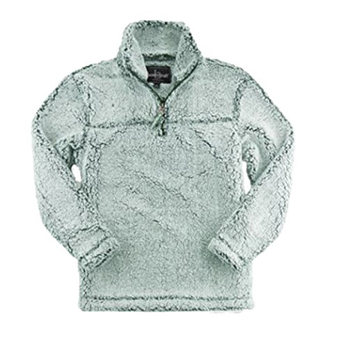 boxercraft Adult Super Soft 1/4 Zip Sherpa Pullover-Frosty H